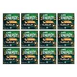 Corny Energy Cacahuete, Café y Chocolate Negro, 12 estuches con 4 barritas 12x(4x25)