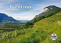 Trentino - Von den Dolomiten bis zum Gardasee (Tischkalender 2022 DIN A5 quer): Entdeckungen im noerdlichen Italien (Geburtstagskalender, 14 Seiten )