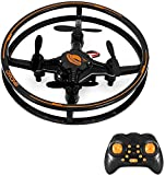 Mini Drone, RC Hover Quadcopter with 3D Flips Flashing LED Headless Mode 2.4G