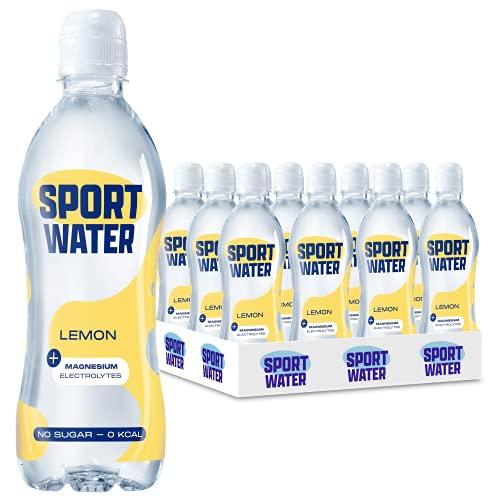 Sportwater Lemon 0,5L (24 flesjes, incl. statiegeld)