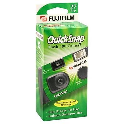 Fujifilm QuickSnap Flash 400 Disposable 35mm Camera (Pack of 2) by FUJIFILM