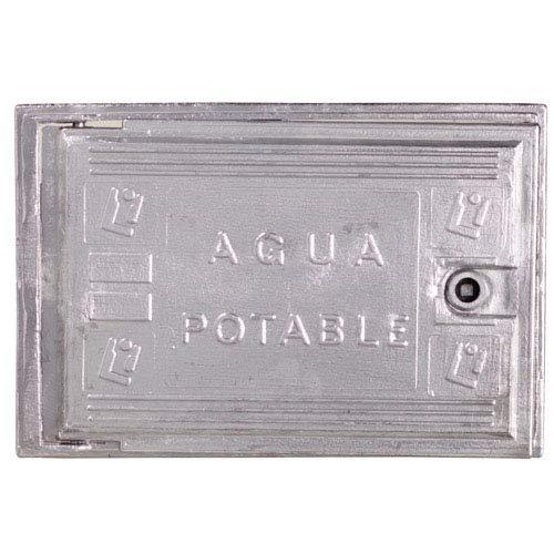 WOLFPACK LINEA PROFESIONAL 4090505 Puerta Contador Agua Aluminio 300x400