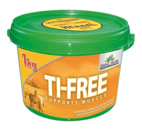 Global Herbs - Ti-Free Horse Muscle Supplement x 1 Kg by Global Herbs