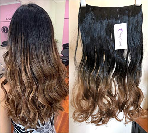 Beauty Shopping DevaLook 17″ 20″ 25″ Thick One Piece Straight Wavy Curly Half Head