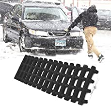 JOJOMARK Tire Traction Mat, Portable Emergency Devices for Snow, Ice, Mud, and Sand Used to Car, Truck, Van or Fleet Vehicle(1 PCS)