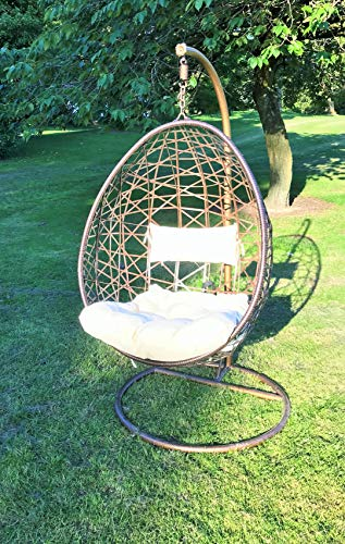 Stylish Hanging Egg Chair lovely to have in Your Garden-GILL HK LTD