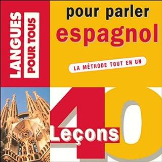 Couverture de 40 leçons pour parler espagnol