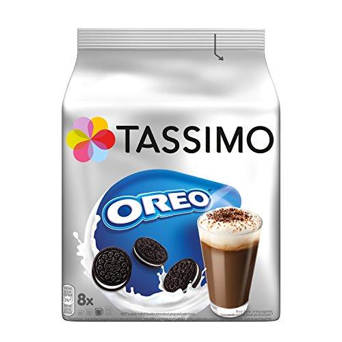 Tassimo Kapseln Oreo, 40 Kakao Kapseln, 5er Pack, 5 x 8 Getränke