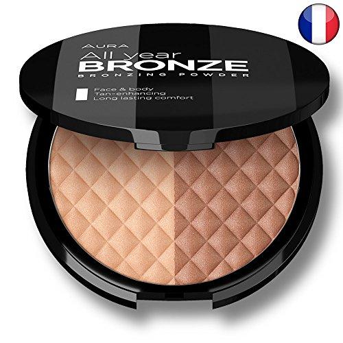 Bronzer Terre de Soleil Visage & Corps Bronze Bay par Aura Cosmetique 100% Made in EUROPE Terra cotta