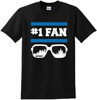 Detroit #1 Fan T-Shirt