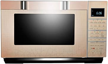 JINRU Pantalla Digital De Horno De Microondas De 25L 900W, Descongelación Automática, Cocción Rápida De Un Toque, Horno De Microondas Solo Fácil De Limpiar - Acero Inoxidable