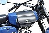 Leder Tanktasche mit Schnellverschluss Tankrucksack Tasche Packtasche Schwarz für Simson S50 S51...