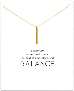 vertical bar necklace meaning