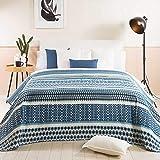 Sancarlos Didac Tagesdecke Bouti, blau, Bett 135 cm
