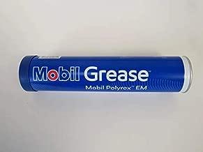 Grease, Mobil 1, Polyrex EM, Electric Motor Bearing Grease, EM, Blue color