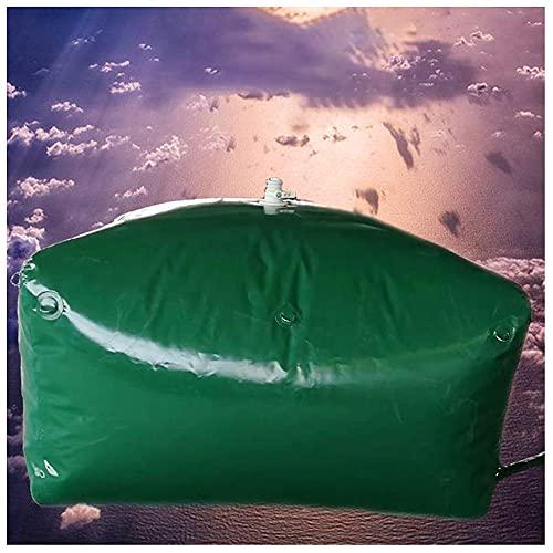 SHIJINHAO Recipiente De Almacenamiento De Agua De Gran Capacidad, Tanque De Agua Duradero para Coche Contenedor De Almacenamiento De Agua Al Aire Libre (Color : Green, Size : 117L/0.8x0.43x0.34M)