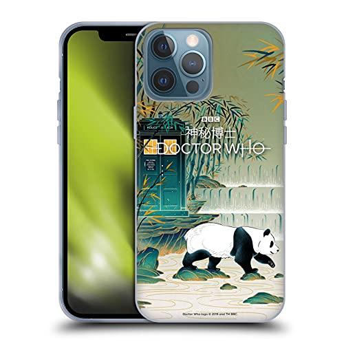 Head Case Designs Licenciado Oficialmente Doctor Who Tardis de Chengdu Temporada 11 Arte Asia Carcasa de Gel de Silicona Compatible con Apple iPhone 13 Pro MAX