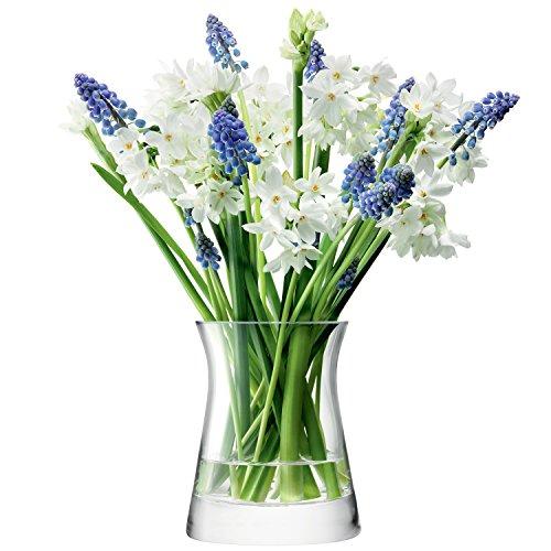 LSA International - Blumenvase - durchsichtig, Höhe: 13cm