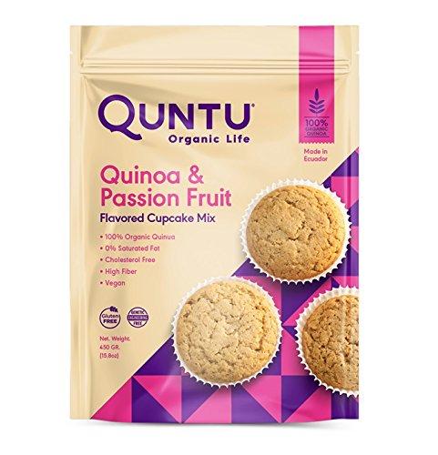 Quntu Quinoa & Passion Fruit Cupcake Mix 15.8 oz