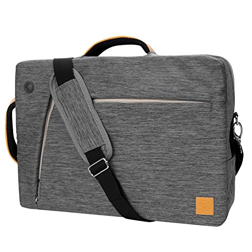 Vangoddy Slate 3 in 1 Hybrid Universal Laptop Carrying Bag, Size 17 inch, Cloudy Gray