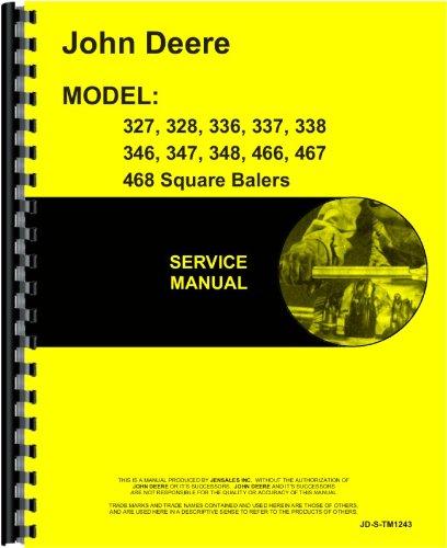 John Deere 338 Square Baler Service Manual
