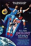 Bill Teds Excellent Adventure Key Art Cool Wall Decor Art Print Poster 24x36