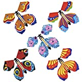 LUTER 15 Pezzi Carica Farfalle Volanti, Giocattolo Farfalla Magico Paese delle Meraviglie Farfalle Fatate, per Sorpresa Regalo, Decorazione Murale, Giocattoli Puzzle per Bambini (Colore Casuale)