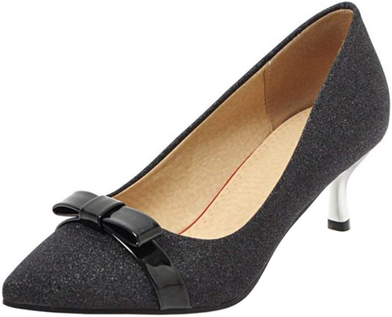 Unm Ladies Elegant Kitten Heel Pumps