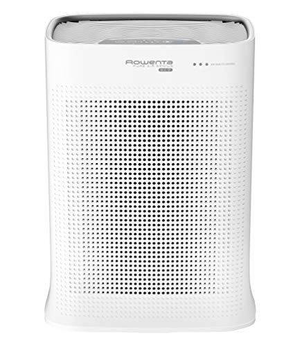 Rowenta Purificateur d'Air Pure Air Nanocaptur+, Silencieux, Automatique, 4 niveaux de filtration, Traitement des allergènes et particules fines PU3040F0
