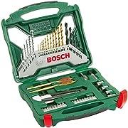 Bosch 2607019327 X-Line Accessory Set, 50 Pieces