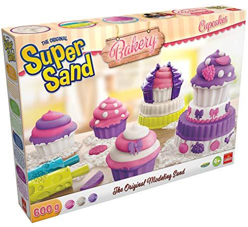 Goliath - Super sand Cupcakes - Loisir créatif - à partir de 4 ans - Jeu de sable à modeler