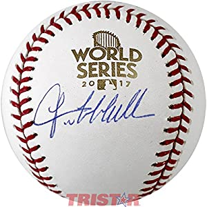 Lance McCullers Signed Autographed 2017 World Series Baseball TRISTAR COA