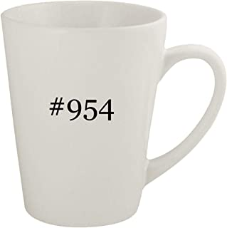 #954 - Ceramic 12oz Latte Coffee Mug