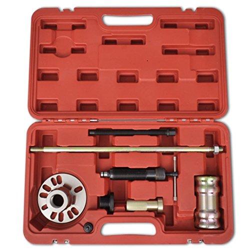 Xingshuoonline hydraulique Extracteur de moyeu de Roue avec Marteau de Lot DE 10 tonnes pour VW, Audi, Seat, Skoda, Opel, Volvo, Fiat, Renault, Peugeot, Citroen