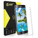 CRXOOX [1 Pack] Verre Trempé pour Samsung Galaxy S6 Edge, Film Protection Écran en Verre Trempé - [3D-Touch/Dureté 9H] [Facile...