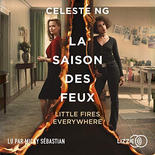 La saison des feux audiobook cover art