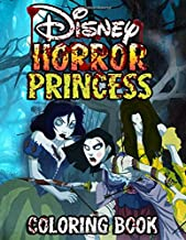 Horror Princess Coloring Book: Adults Creative Coloring Books To Relax And Inspire