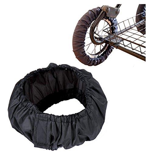 2pz copricerchi carrozzina/passeggino carrozzina della rotella, Winmany mantiene House Clean anti-sporco, passeggino, ruota copertura contro lo sporco carrozzina passeggino accessori