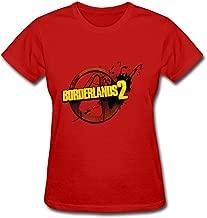 Simhood Women's Borderlands 2 Logo Short Sleeve T-Shirt