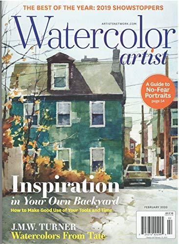 Watercolor Artist Magazine February 2020