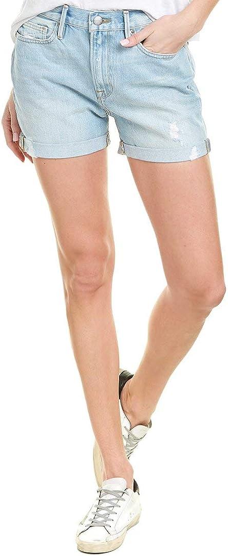 FRAME Women's Le Beau Cuff Shorts