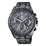 Best Casio Edifice Watches - Casio Edifice Analog Grey Dial Men's Watch-EFR-552GY-8AVUDF (EX442) Review