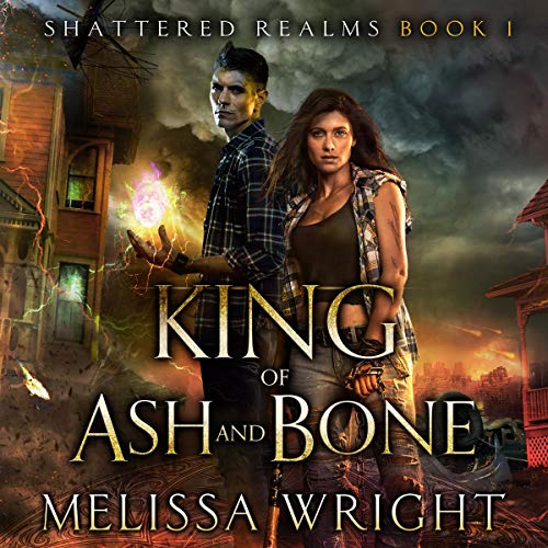 King of Ash and Bone audiobook cover art
