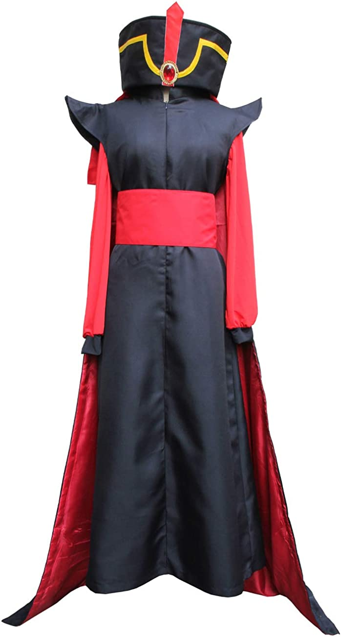 Angelaicos Mens Black Red Costume Robe C Suits Cosplay Popular Arlington Mall product Halloween