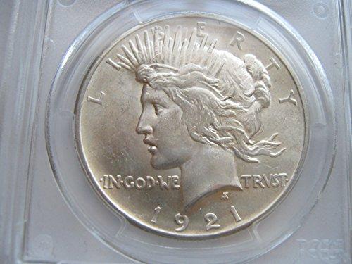 1921 Peace $1 PCGS MS62