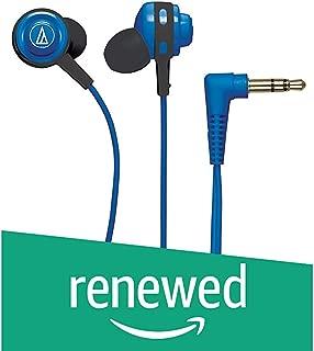 (Renewed) Audio-Technica ATH-COR150BL in-Ear Headphones (Blue)
