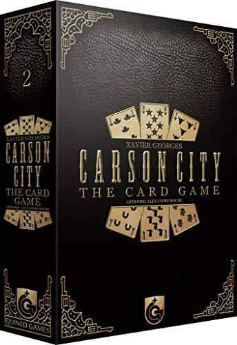 Quined Games QUINEDCCCG Carson City The Card Game, Multicolor Juego de Cartas