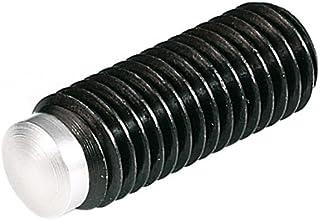 DIN 916 Class 45H Socket Set Screw Cup Point Alloy Steel Black Oxide Pk 100 M8 x 1.25 x 50 MM Coarse Thread ISO 4029