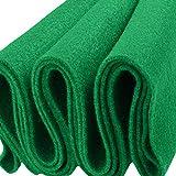 FabricLA Acrylic Felt Fabric - 72' Inch Wide 1.6mm Thick Felt by The Yard - Use Felt Sheets for Sewing, Cushion and Padding, DIY Arts & Crafts - Kelly Green, 1 Yard