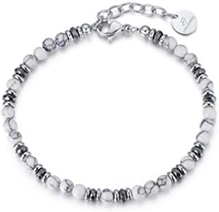 Lucca Barra Urban CP100 Men/'s Trouser Chain With Keyring Silver Steel